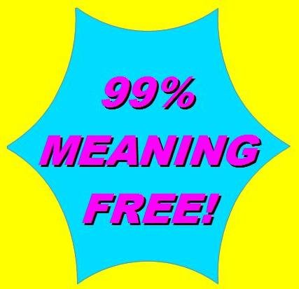 99% meaning free